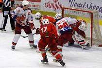 Nejlepší výkon. Ten předvedli podle trenérů brodští junioři HC Rebel v pátečním zápase proti Velkým Popovicím.