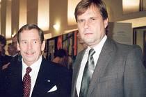 S Václavem Havlem se Jan Hammer setkal po revoluci na Pražském hradě.