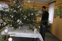 Výstava stromečků našla podle starosty Miloše Starého příznivce až na Slovensku.