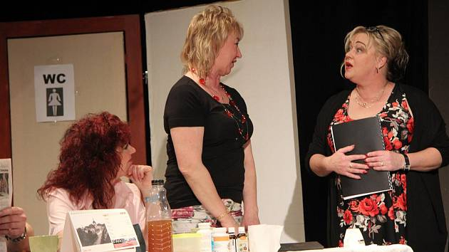 Obnovený divadelní spolek Lucerna zkouší dvakrát týdně.