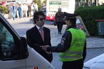 Policisté dohlíželi na ranní dopravní špičku v Havlíčkově Brodě. Zahájení výstavy Zahrada nezpůsobilo žádné výrazné komplikace.