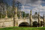 Most ve Žďáře, kde straší podle pověsti upír Ulrich.