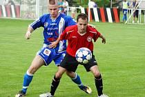 MFK Chrudim porazila ve 34. kole ČFL Králův Dvůr doma 2:1.