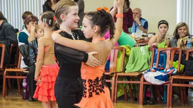 Taneční soutěž pro neregistrované páry v Třemošnici.