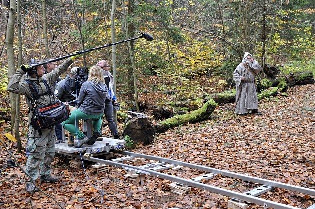 Z natáčení filmu.