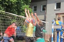 Volejbalový turnaj v Nové Pace.