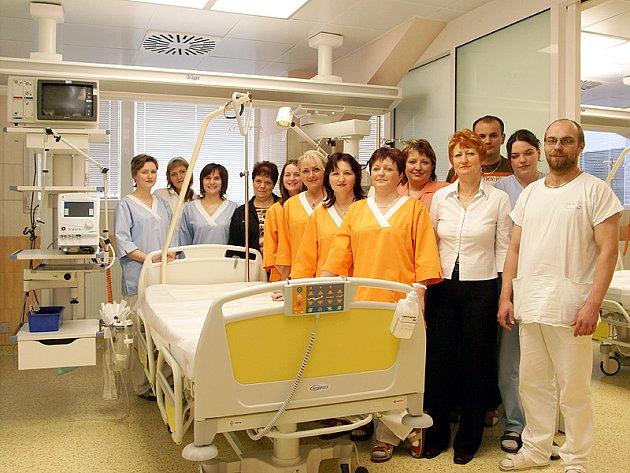 Slavnostní otevření zrekonstruovaného oddělení ARO v Nemocnici Chrudim.