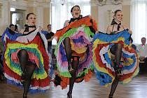 Z Tanečního festivalu a MČR v párových tancích a choreografiích, který se konal v chrudimském Muzeu.
