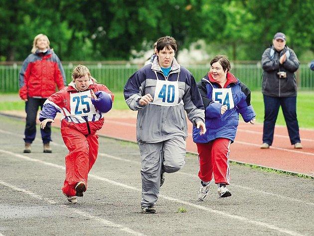 Z 18. ročníku Sportovních her poskytovatelů sociálních služeb ve Slatiňanech.