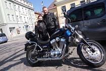 Daniel s manželkou Andreou