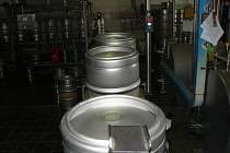 Z hlineckého pivovaru Rychtář.