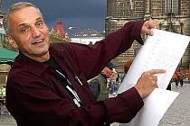 Známý umělec David Vávra navštívil v minulosti Chrudim již několikrát.