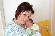 JAKUB ZIMA (3,24 kg a 51 cm) se narodil 30.5. v 13:25 a bude doma s rodiči Alenou a Jaroslavem Zimových a bráškou Jarouškem (3) v Hradci Králové.