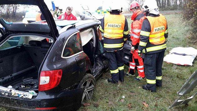 Nehoda ve Vlčnově