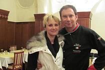 Petra Dušánková, předplatitelka Chrudimského deníku, má zážitek ze setkání s italským kuchařem.