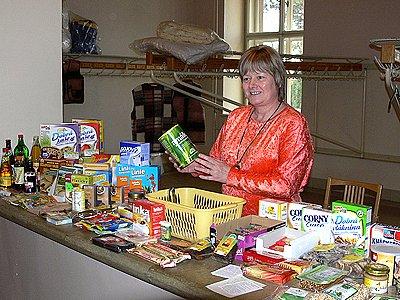 dově zdejšího Muzea. Alexandra Novotná z chrudimské Prodejny zdravé výživy představila například bioprodukty, semena rostlin, čaje a doplňky zdravé výživy.
