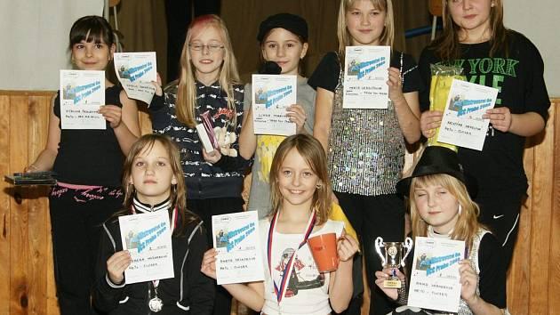 Chrastečtí finalisté v kategorii děti.