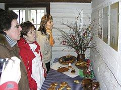 Velikonoční výstava v hlinecké enklávě Betlém.