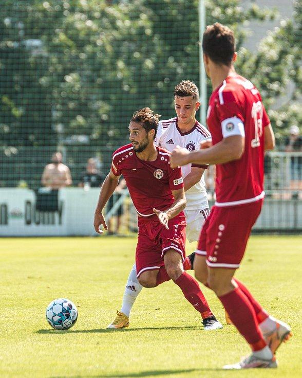MFK Chrudim vs. AC Sparta Praha B (0:1).