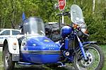 Sidecar club Nasavrky pořádal první jarní vyjížďku.