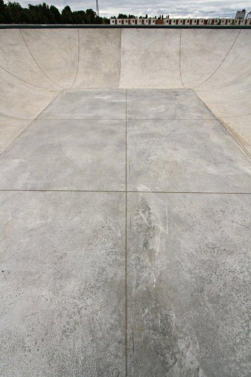 Nový skatepark v Chrudimi