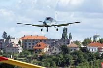 Chrudimské letiště ovládl Velký vojenský a letecký den.