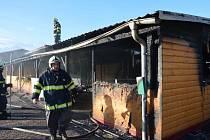 Požárem vznikla škoda ve výši 2,5 milionu korun.