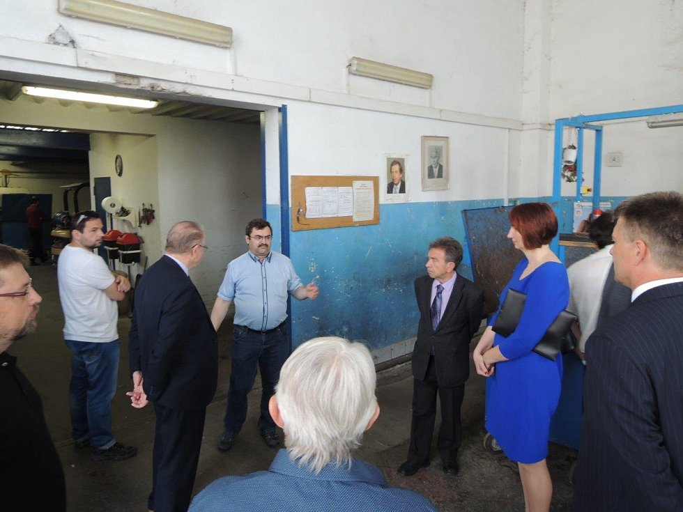 Chrudimští zastupitelé navštívili partnerské město Svidník.