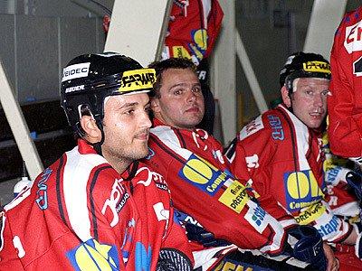 Hokejisté HC Chrudim.