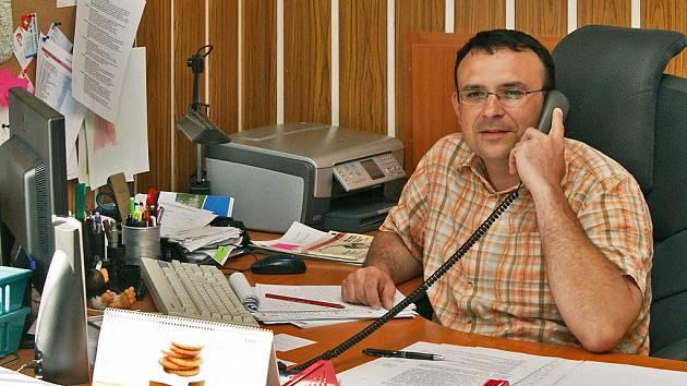 Starosta Zaječic Róbert Pavlačič.