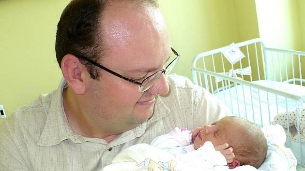 ANNA DOLEŽALOVÁ. Statečně si podle maminky Ireny počínal tatínek Zbyšek při narození jejich druhého potomka. K čtyřletému Matějovi jim tak 23.8. v 17.15 přibyla Anna s mírami 3,05 kg a 49 cm. Vše nej do Pardubic!