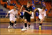 Z finálového klání futsalové Final Four mládeže v Brně.