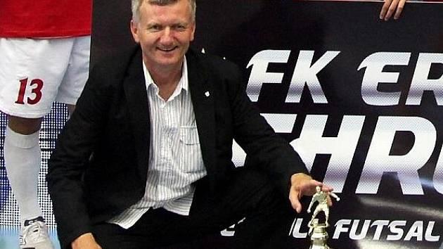 Manažer futsalového klubu ERA-PACK Chrudim Jozef Lörincz.
