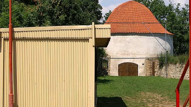 Bašta Prachárna v Chrudimi.