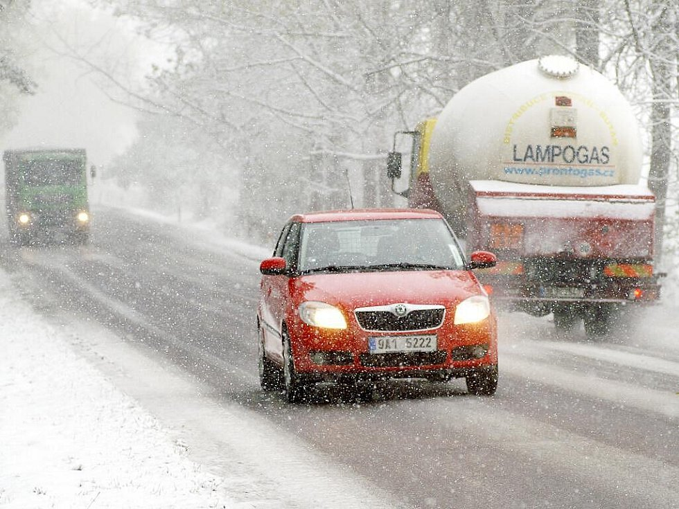 15. října 2009: Sněhová kalamitazasáhla i výše položené části okresu Chrudim.