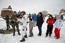 Zimní táboření na Lichnici přináší i zajímavý program přes den.