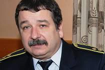Martin Tamchyna, velitel SDH v Třemošnici.
