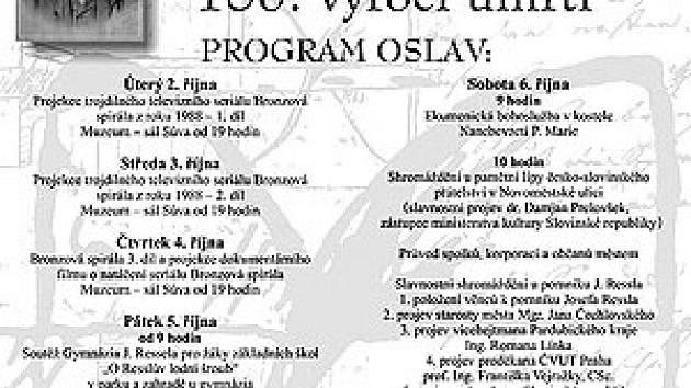 Plakát Jiřího Sávy.