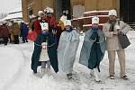 I přes nepříznivé počasí se v Hlinsku uskutečnila Tříkrálová sbírka.