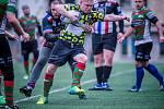 Z utkání v rugby league Rabbitohs – Beroun 32:0 (18:0).