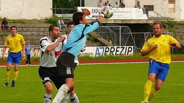 Z divizní derniéry AFK Chrudim - Dvůr Králové 3:0.