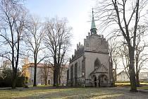 Park s kostelem svatého Michaela archanděla