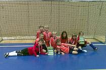 PĚKNÉHO ÚSPĚCHU dosáhli chlapci ze starší přípravky MFK Chrudim (ročník narození 2002 a mladší) na domácím halovém fotbalovém turnaji v Chrudimi za účasti sedmi týmů.