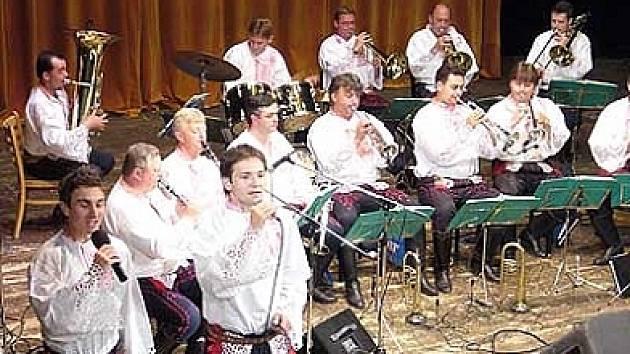 Kapela Mistříňanka.