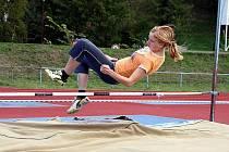 Krajské kolo Středoškolského poháru v atletice se uskutečnilo na Letním stadionu v Chrudimi.
