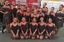 Taneční klub Besta Chrudim reprezentoval na mistrovství Evropy