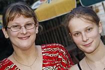 Eva (vlevo) a  Hana Herynkovy z Hlinska jsou Tvářemi tohoto týdne.