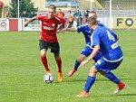 Fotbalová FORTUNA:NÁRODNÍ LIGA: MFK Chrudim - FK Varnsdorf.