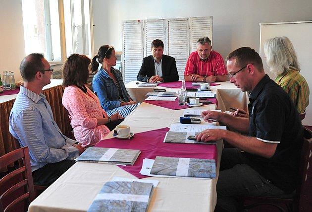 Tisková konference k programu zahájení Dnů evropského dědictví.