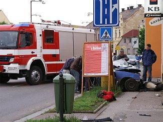 Matka s asi čtyřletým dítětem nehodu nepřežila.